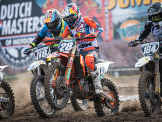 Start DMoMX Oss 2019, Manche 2, 250cc (foto Bart Amsing)