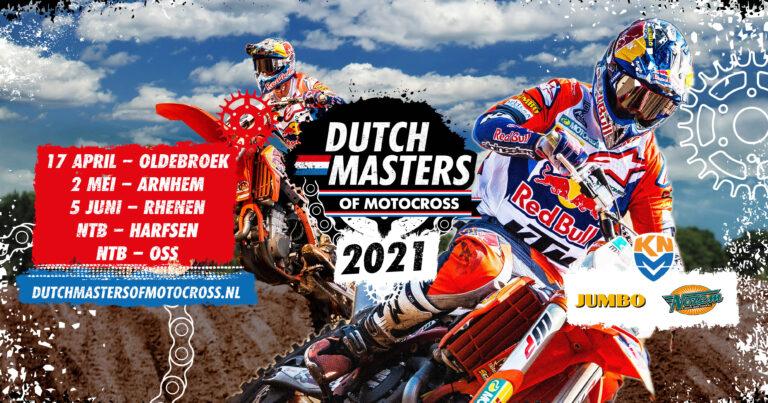 Openingsronde Dutch Masters of Motocross verplaatst naar Oldebroek (17 april)