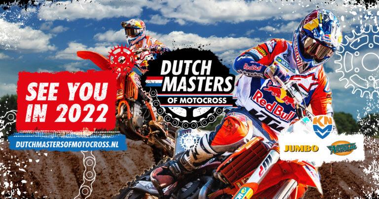 Geen Dutch Masters of Motocross in 2021